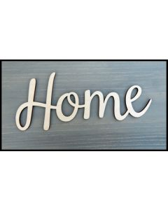 """WS1353 Home Sign 10"""" wide x 4 1/8"""" tall"""