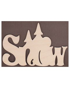 Laser cut Snow Sign from Jamie Mills-Price Christmastime 7