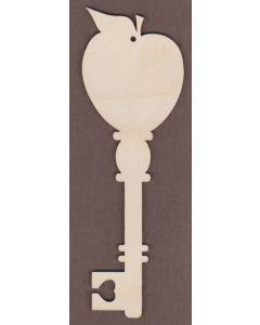 WT2725-Decorative Key-Apple