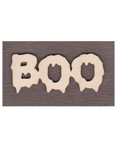 "WS2961 Pumpkin Boo Sign 6"" wide x 2 3/8"" tall"