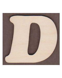 Laser cut Letter D