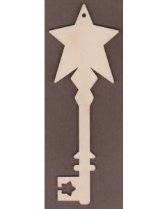 WT2672 Laser cut Decorative Key-Star