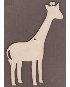 "WT9434-Giraffe Ornament-5 3/4"" tall x 4"" wide"