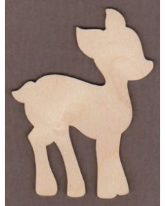 "WT9452-Deer-5"" tall x 3 7/8"" wide"