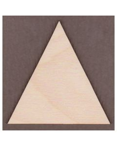 "WT9466-1 Equilateral Triangle all sides 2 1/2"" long"