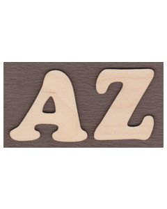 "Alphabet Set-A to Z-5/8"" tall"