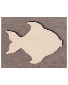 """WT9580 Angel Fish 4"""" wide x 3"""" tall"""