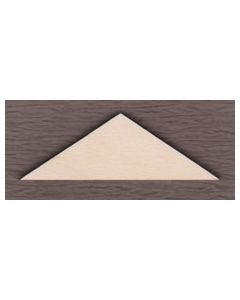 "WT9479-Triangles- 3/4"" tall x 2"" wide"