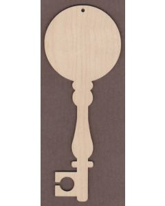 WT2757-Laser cut Decorative Key-Sports Ball ©