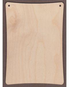 """WT9300-Christmas Card Blank -5"""" x 7"""" vertical"""