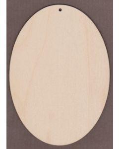 """WT9302-Christmas Card Blank - Oval-5"""" x 7"""" vertical"""