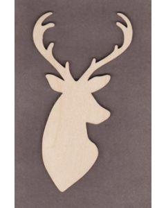 "WT9527 Christmas Deer #3-6"" tall x 3 1/4"" wide"