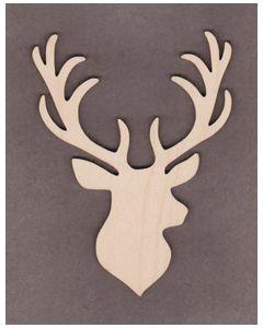 "WT9516 Christmas Deer #1-5"" tall x 3 3/4"" wide"