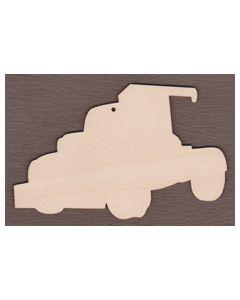 WT2902-Tow Truck Ornament by Debbie Cotton
