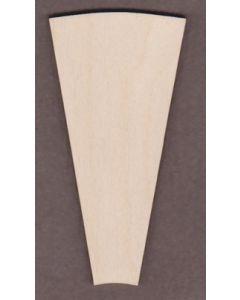 """WT9105 Farm Windmill Blade 4 7/8"""" wide x 9 7/8"""" tall"""