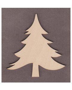 """WT9535 Fir Tree-4"""" tall x 3 3/4"""" wide"""