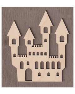 """WT5089 Haunted House 5"""" tall x 4 3/8"""" wide"""