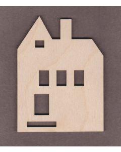 """WT2335-Laser cut House-4"""""""