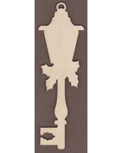 WT2742-Laser cut Decorative Key-Holly Lantern