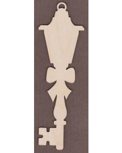 WT2741-Laser cut Decorative Key-Bow Lantern