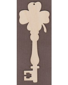 WT2743-Decorative Key-Shamrock