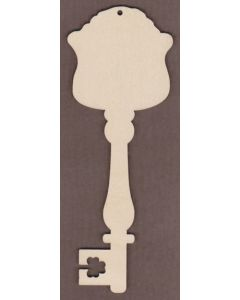 WT2744-Laser cut Decorative Key-Pot of Gold