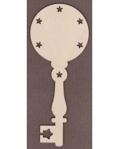WT2734-Laser cut Decorative Key-Star Border