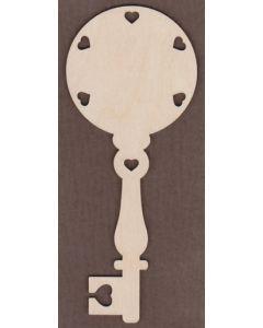 WT2735-Laser cut Decorative Key-Heart Border