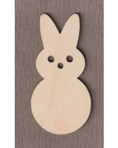 """WT5023 Sitting Easter Bunny  6"""" tall x 5 1/2"""" wide"""