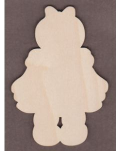 PHD015-Little Miss Blue Gingerbread Girl