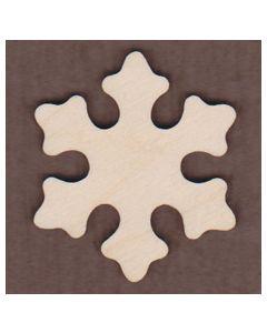 WT1077-Laser cut Aspen Snowflake