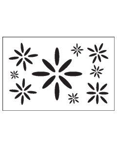 ST1027-Oval Star-Mylar Stencil