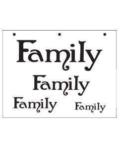 ST1037-Family -Mylar Stencil