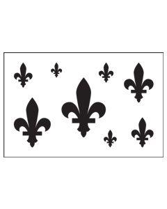 ST1038-Fleur-de-lis-Mylar Stencil