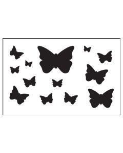 ST1039-Butterfly-Mylar Stencil