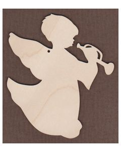 WT1003-Laser cut Jamie Mills-Price Angel with Bugle