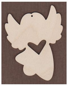 WT1004-Laser cut Barefoot Babes Angel