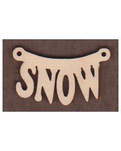 WT2091-Laser cut Snow Sign-Hanging