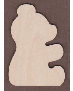 WT1032-Laser cut Teddy Bear