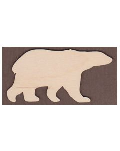WT1034-Laser Cut Polar Bear