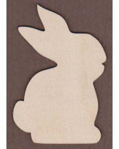 WT1043-Laser cut Rabbit