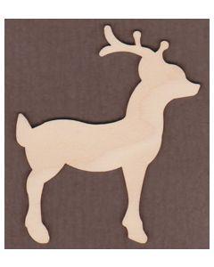 WT1045-Laser cut Reindeer