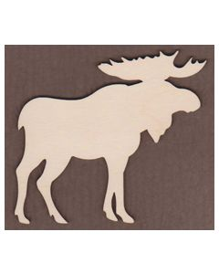 WT1073-Laser cut Moose