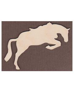 WT1061-Laser cut Horse Jumping