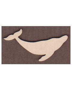 WT1065-Laser cut Whale