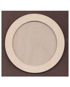 WT1106-Laser cut Circle 2 piece Frame Kit