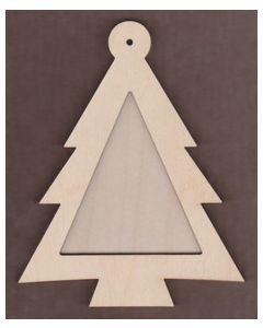 WT1117-Laser cut Tree 2 piece Frame Kit