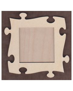 WT1123-Laser cut Puzzle 2 piece Frame Kit Small