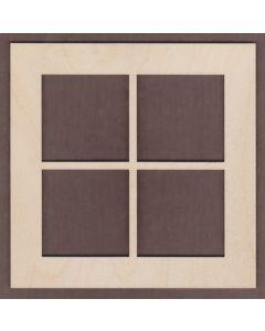 "WT1105-1 Window 7 3/4"" x 7 3/4"""
