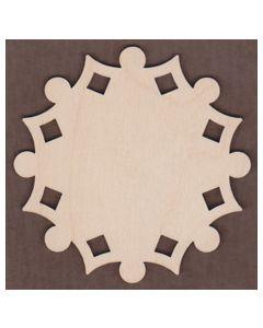 WT1167-Laser cut Corinne's Snowflake